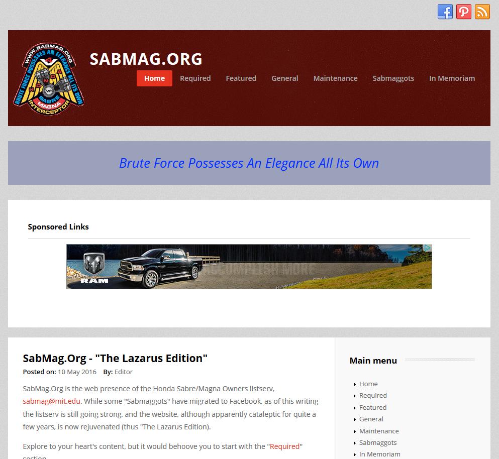 SabMag.Org website